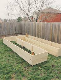raised garden bed reveal