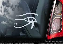 Eye Of Horus Car Sticker Egyptian Wadjet Window Bumper Decal Logo Ra Sign V1 Ebay