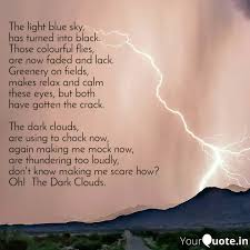 the light blue sky has quotes writings by shivam bisht