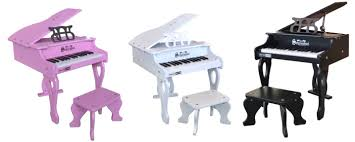 key digital baby grand piano
