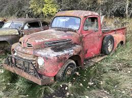 ford f2 receives frame off restoration