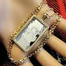 9ct gold new bullion bar lady luck
