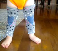 diy no sew toddler legwarmers with knee