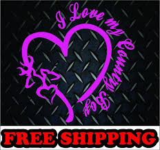 Buy I Love My Country Boy Browning Vinyl Decal Sticker Heart Truck Diesel Family Motorcycle In Batavia Ohio Us For Us 4 99