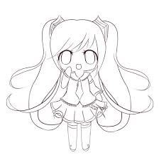 Hatsune Miku Coloring Pages - Coloring Home