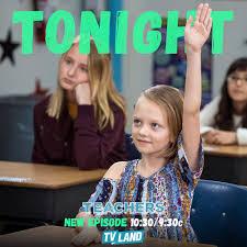 "Ivy George on Twitter: ""Tonight! Ivy guest stars on @TeachersSeries on  @tvland! 10:30/9:30c… """