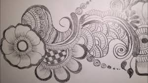 mehndi design and drawing