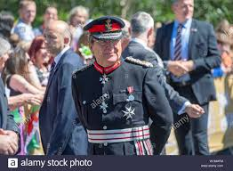 Swansea, Wales, UK. 03rd July, 2019. The Lord Lieutenant of West ...