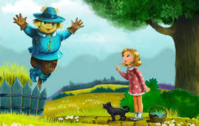 tale wolves ellie scarecrow toto