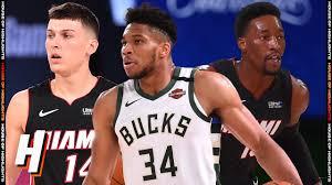 Miami Heat vs Milwaukee Bucks - Full Game Highlights | August 6, 2020 |  2019-20 NBA Season - YouTube