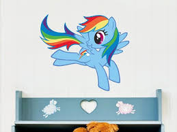 Hey I Found This Really Awesome Etsy Listing At Https Www Etsy Com Listing 155367978 Handmade Reusable Removable W Rainbow Wall Decal Rainbow Dash Pony Wall