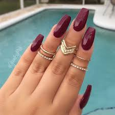 28 cly burgundy nails designs that