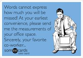 funny quotes saying goodbye to coworkers funny hortson