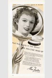 hair beauty adverts from the 1940s