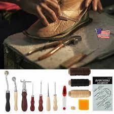 14pcs leather needles stitching awl