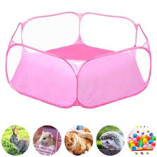 Small Animals Cage Tent Breathable Pet Playpen Open Outdoor Indoor Exercise Portable Yard Fence For Shopee Philippines