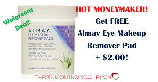 2 moneymaker on almay makeup remover
