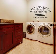 Laundry Room Wash Dry Fold Repeat Laundry Room Decor Ideas