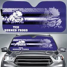 Tcu Horned Frogs Ncaa Auto Sunshade Auto Car Windshield Window Sun Shade Sport Teams
