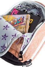 magic mini makeup bag in rose gold