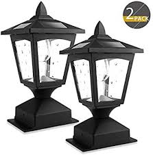 solar post lights outdoor lamp post