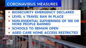 travel bans and gathering restrictions ...