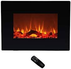 flame shade electric fireplace heater