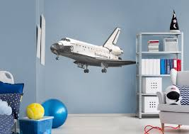 Space Bedroom Boys Spaceship Bedroom Space Shuttle Endeavor Wall Decal Visit Us And Follow Us On Pinterest For All Y Boys Bedrooms Boy Bedroom Boy S Bedroom