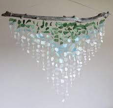 sea glass wind chimes gorgeous sea