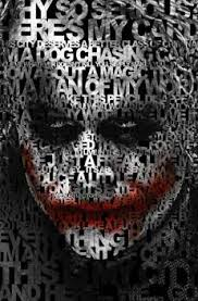joker quotes satin material x in dark knight batman poster