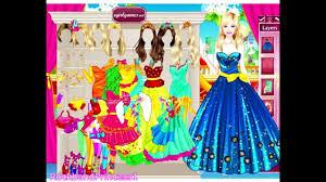 barbie beauty princess dress up game