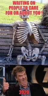 memes waiting skeleton jeremy clarkson