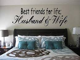 Amazon Com Best Friends For Life Husband Wife Vinyl Wall Decal 36 X 12 By Sainz R Us Everything Else