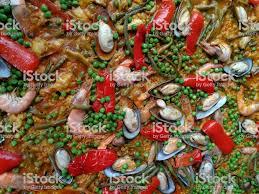 Mix Seafood Soup Pot Close Up Stock ...