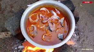 Village Style Cooking of Fish Curry ...