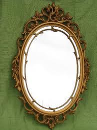 vintage syroco ornate gold frame w