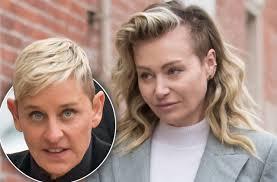 Portia De Rossi In Tears As Ellen DeGeneres Moves Out