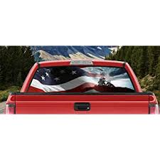 Amazon Com M22 Waving American Flag Iwo Jima Marines Ww2 Military Full Color Back Window Graphic Decal Truck Backscape 66 X 20 Inches Automotive