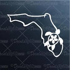 Florida Sea Turtle Decal Florida Sea Turtle Car Sticker Best Prices