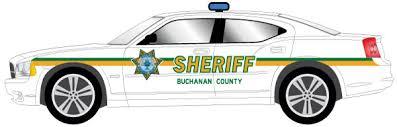 Sheriff Car Decal Set Iowa Prison Industries