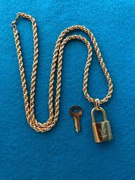 louis vuitton authentic lock on a
