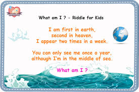 What am I ? - Riddles for Kids with Answers - Gift Our Precious