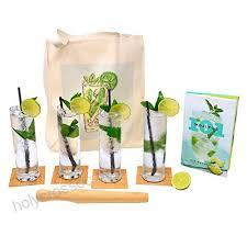 mojito gift set with mojito gles