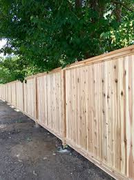 Privacy Fence Using Wood Fence Panels To Create Privacy Fencing