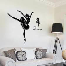 Sk9196 Modern Home Decorative Creativity Wall Decal Diy Dancer Ballet Wall Stickers Buy Ballet Wall Stickers Dancer Ballet Wall Stickers Diy Dancer Ballet Wall Stickers Product On Alibaba Com