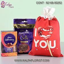 valentine day gift husband kalpa florist