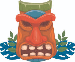 Home Bedroom Polynesian Carving Decor Vinyl Tiki Statue Vinyl Wall Decal Sticker Ebay