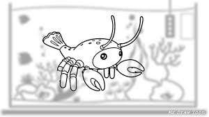 Reef Lobster - How to draw a Lobster ...