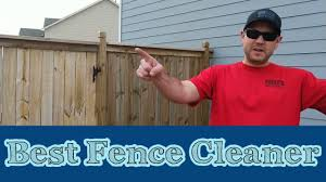Best Fence Cleaner Youtube