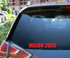 Vision 2020 Kanye West President Decal Etsy